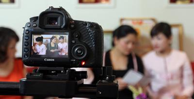 Làm video clip tại Hà Nội