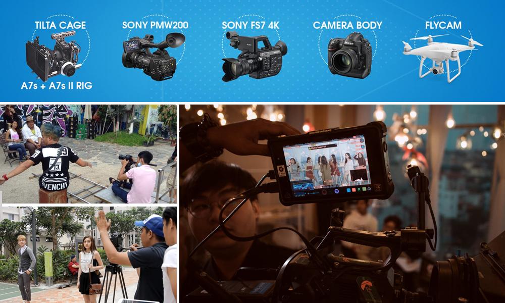 dịch vụ quay video clip tại Hà Nội