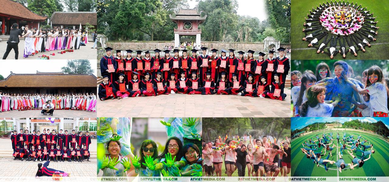 quay phim kỷ yếu tại Hà Nội