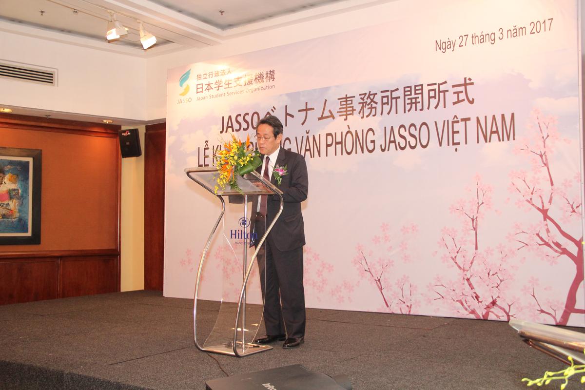 Album ảnh khai trương văn phòng Jasso Việt Nam