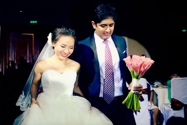 Quay phim phóng sự cưới L&R