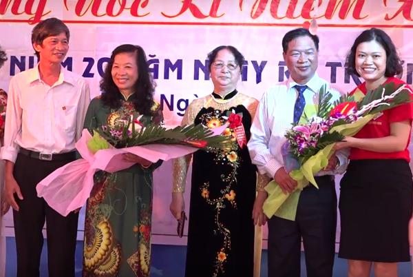 lễ kỷ niệm 50 năm thành lập trường THPT Trần Hưng Đạo